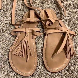 Bernardo wrap sandals